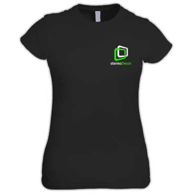 White-Green stereoDecor Logo
