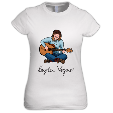 Kayla Vega Art Women's T-Shirt