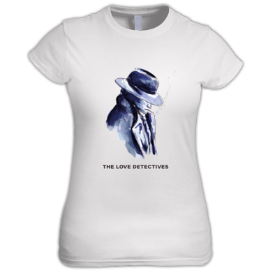 Love Detectives Ladies T-shirt