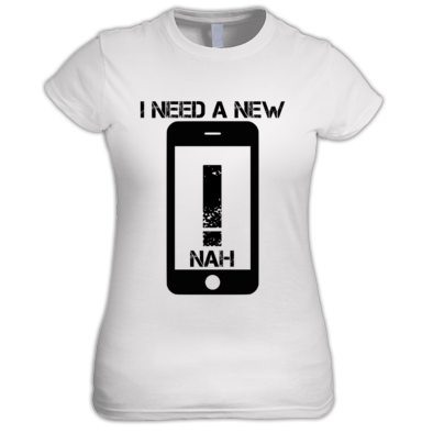 New Phone Women's Tee