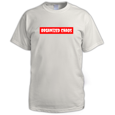 Organised Chaos Single - T Shirt