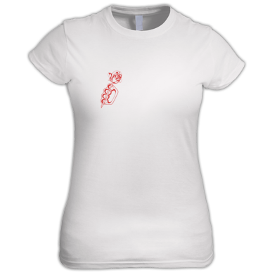 Fist & Rose (T-Shirt) (Women)
