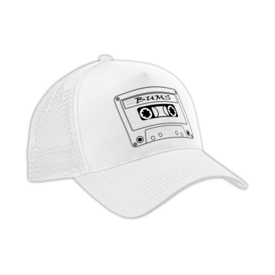 White Tape 2 Bums Cap