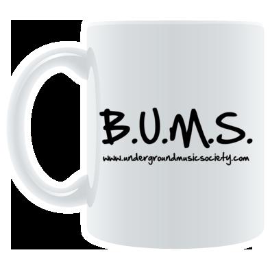 BUMS text mug