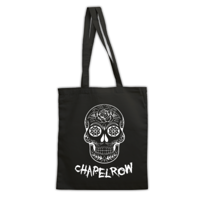 Chapel Row Skull Tote Bag