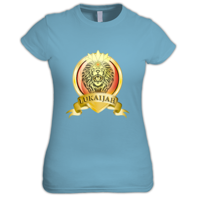 'Illuminated Lion' Women's T-Shirt