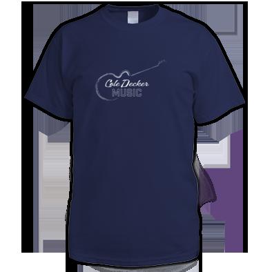 Cole Decker Music Inverse Men's T-shirt
