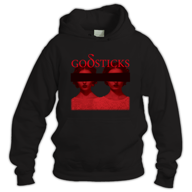 GODSTICKS - FACED WITH RAGE - Hoodie