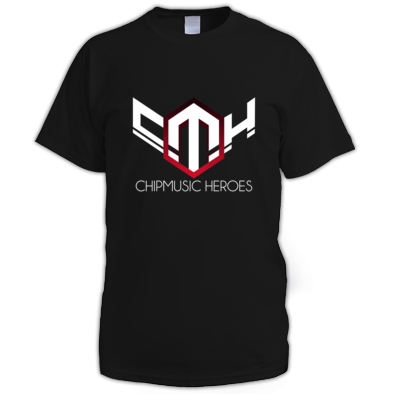 Chipmusic Heroes - Men's T RUBY