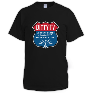 Ditty TV Concert Series Mens T-Shirt