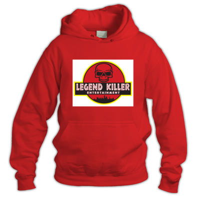 Legend Killer Entertainment - White and red Hoodie