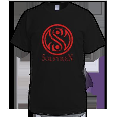 Distressed Circle Logo T-Shirt