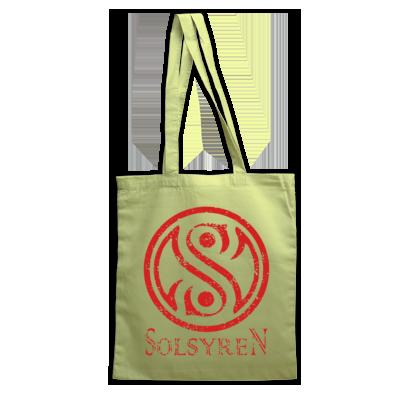 Distressed Circle Logo Tote Bag