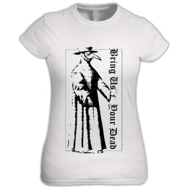 PLAGUE DOCTOR WOMAN'S T-SHIRT