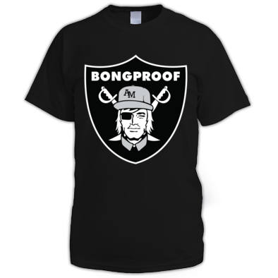 The Bongproof Black Edition Tee