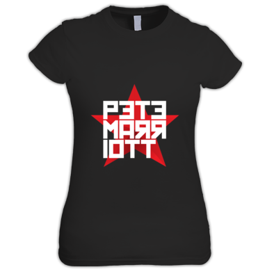 Pete Marriott Red Star Logo Women