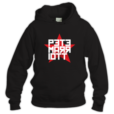 Pete Marriott Red Star Logo Hoodie