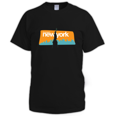 The Sound of New York Tee Men