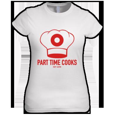 Cooks Logo Ladies T
