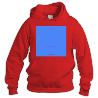 Blue on Red