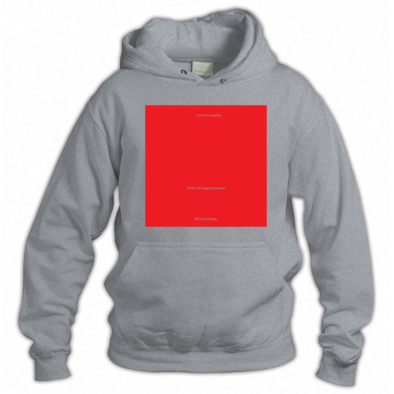 Red on Grey