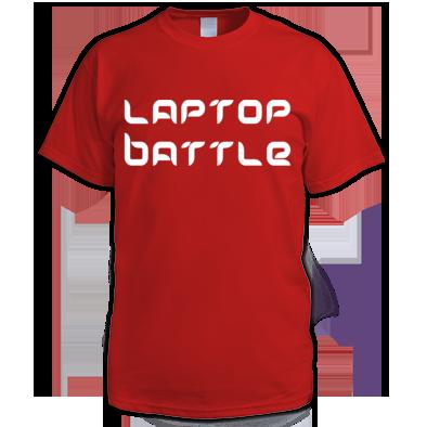 Laptop Battle T-shirt