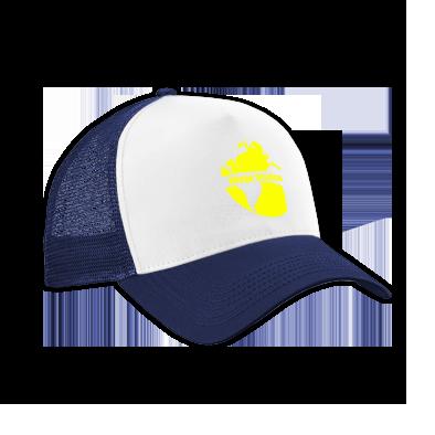 Yellow on Navy