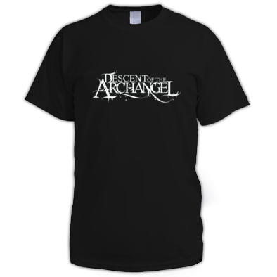 Descent of the Archangel Original Logo Inverted