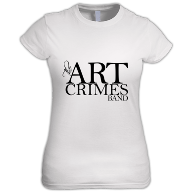 The Art Crimes Band Logo Black Women's