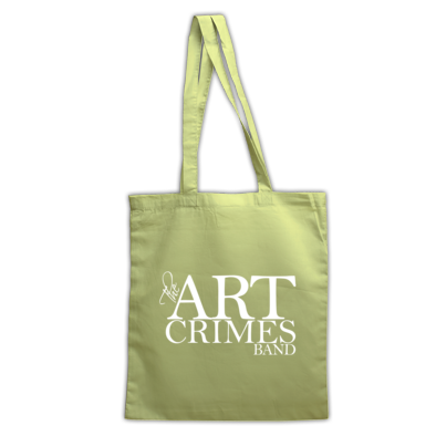 The Art Crimes Band Logo White