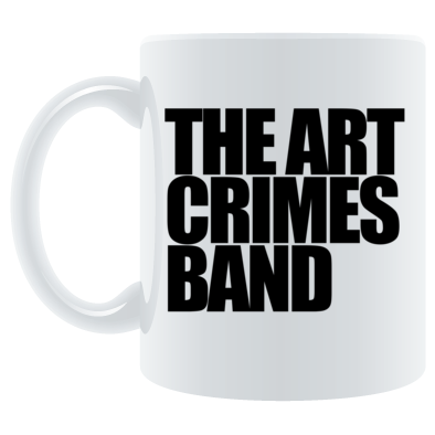 The Art Crimes Band Black Logo Mug