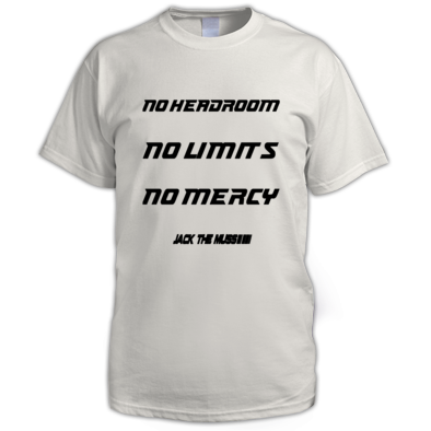 JTM No Mercy mens t-shirt (customizable)