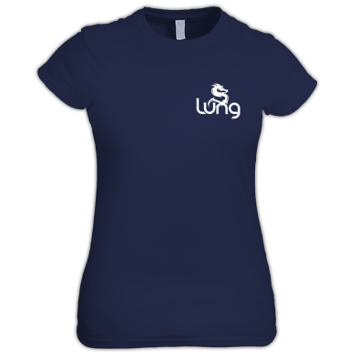 Lung logo - Large/White