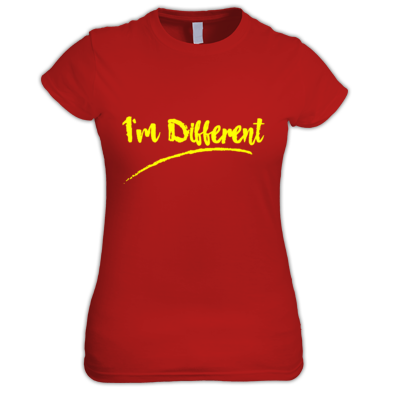 I'm Different Women's Tee