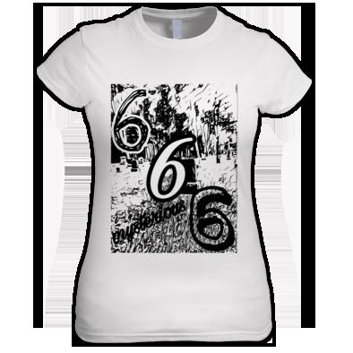 666 woman's T-shirts