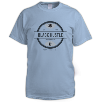 Black Hustle - Inspired By Life Men's Tee