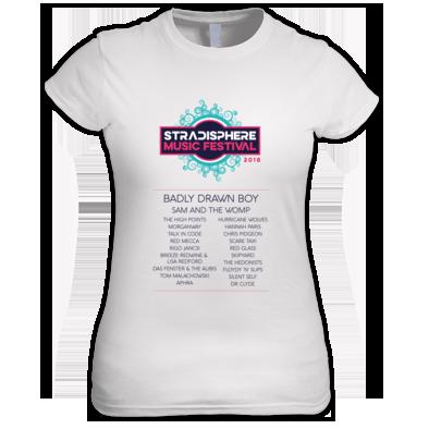 Stradisphere Ladies Tshirt 2018 (pale)