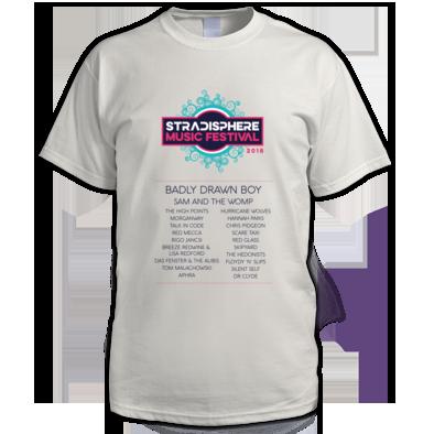 Stradisphere Mens Tshirt 2018 (pale)