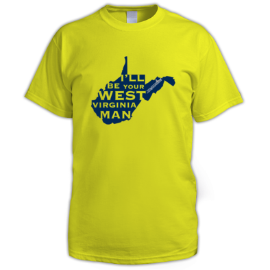 West Virginia Man Shirt