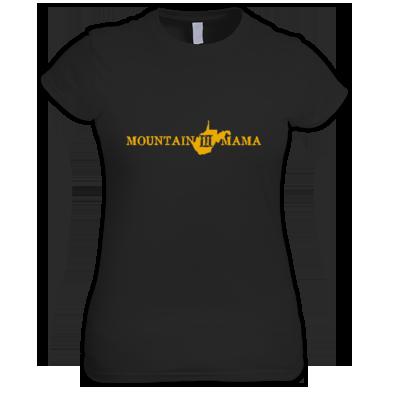 Mountain Mama Gold Woman's Shirt