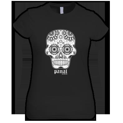Women's Skull Old English Tee