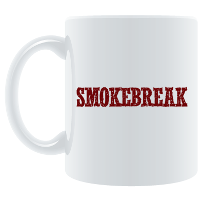 SmokeBreak coffee cup