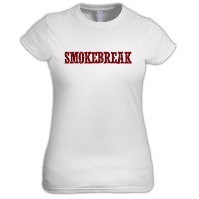 SmokeBreak ladies t-shirt