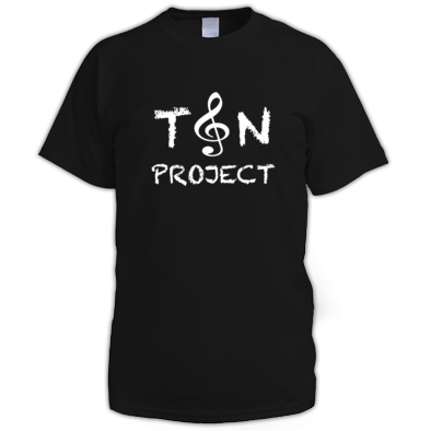 T&N Project Man T White logo