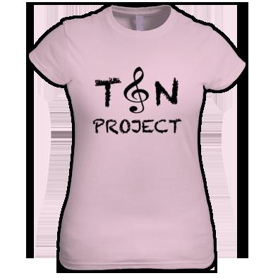 T&N Project Woman Black Logo