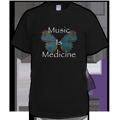 Music Is Medicine Women's Tee