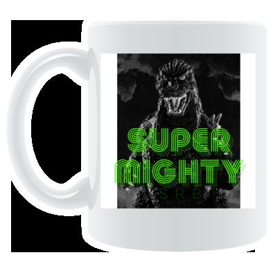 Super Mighty - Monster Logo