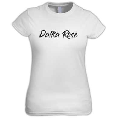 Dalka Rose - Black Text