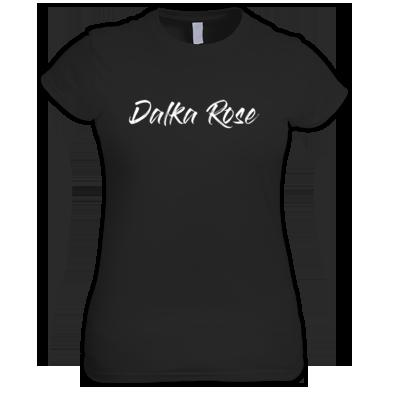Dalka Rose - White Text