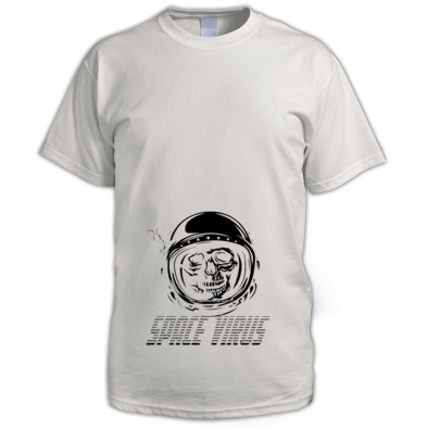 Space virus helmet single color